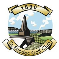 St Enodoc Golf Club 1890 logo