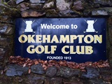 Welcome to OKEHAMPTON GOLF CLUB image