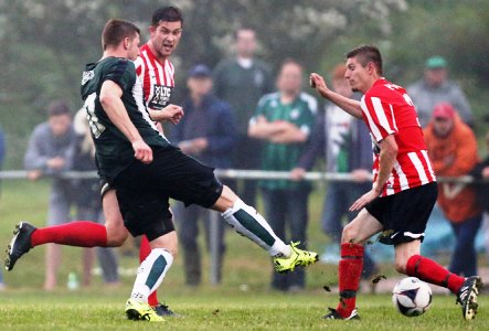Ryan Brunt, Plymouth Argyle FC at Elburton Villa AFC image courtesy & copyright Dave Rowntree/PAFC