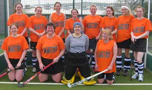 duchy hockey club ladies team, courtesy stuart richardson